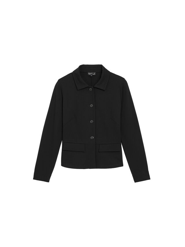 Black Milano Rainette Jacket