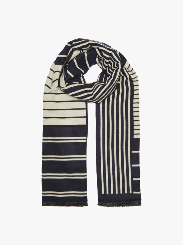 Coastline Striped Scarf