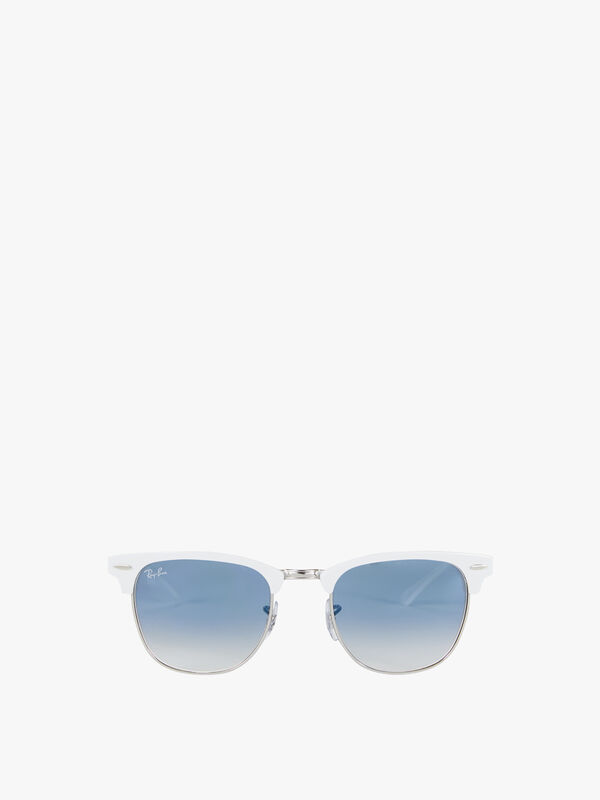 Metal-Clubmaster-Sunglasses-Rayban
