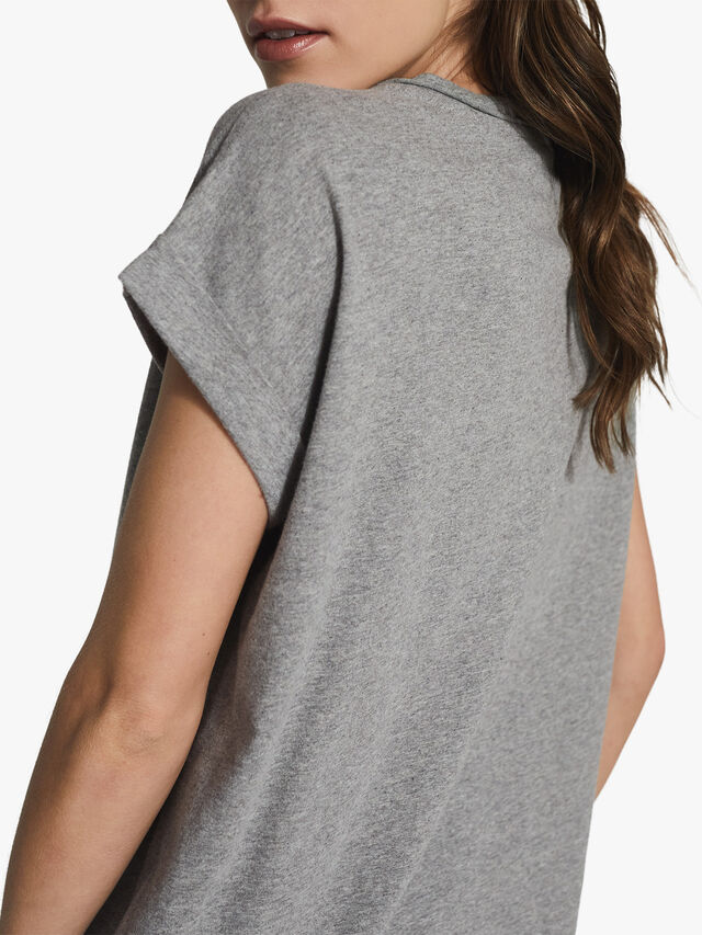 TEREZA Cotton-jersey T-shirt