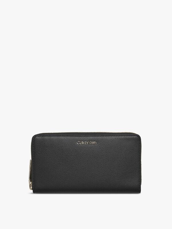 Enfold Large Zip Around Wallet