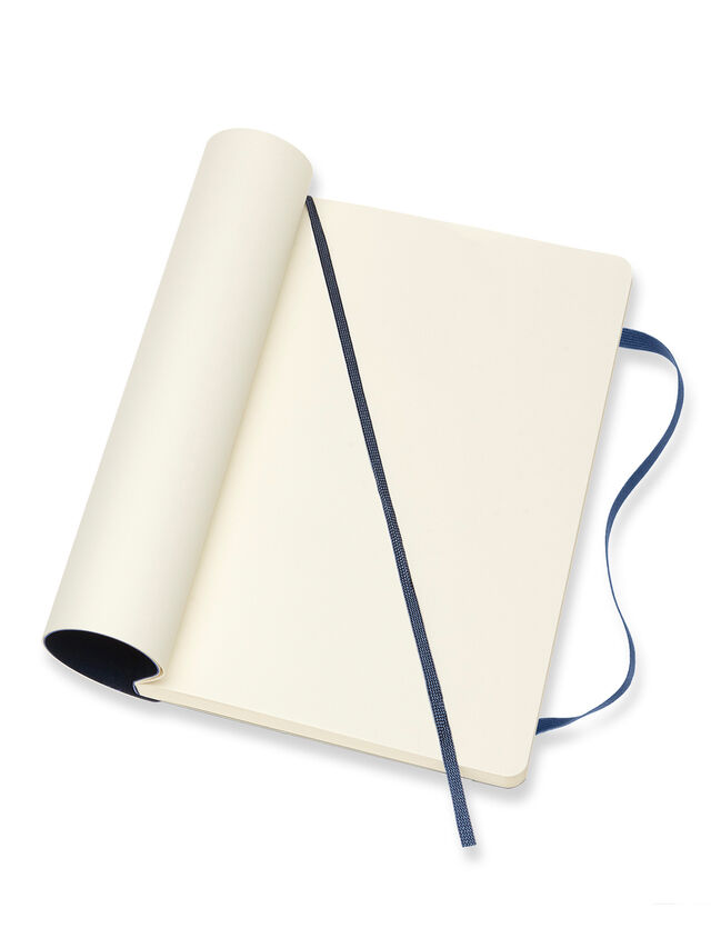 Large Notebook Plain Soft Cover