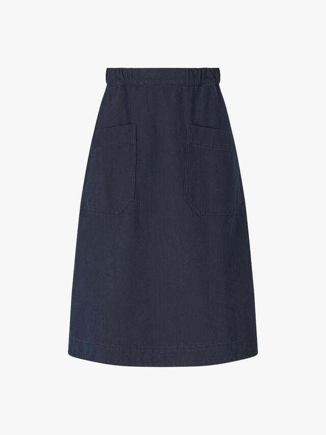 Denim Gym Skirt