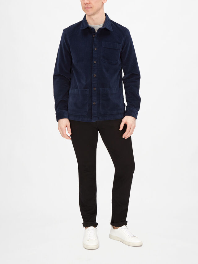 Cabin Cord Tailored Fit Overshirt