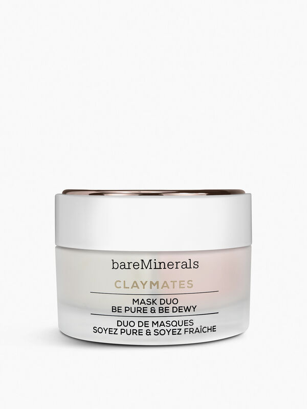 Clay Mates Double Duty Clay Mask Duo Be Pure & Be Dewy