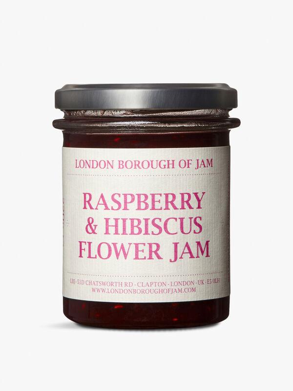 Raspberry And Hibiscus Jam
