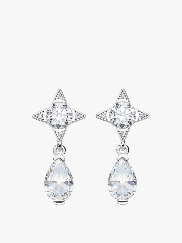Magic Stars Pear Drop Earrings