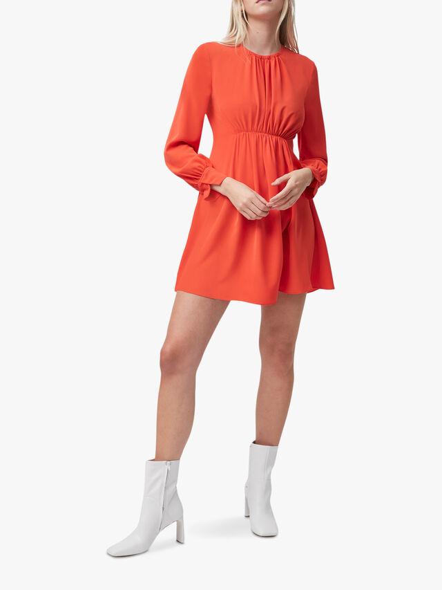 Emmy Crepe Long Sleeve Dress