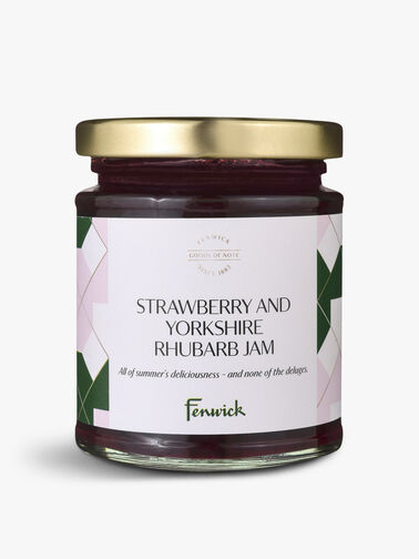 Strawberry and Yorkshire Rhubarb Jam