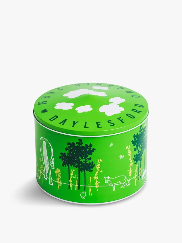 Organic Large Round Biscuit Tin 798g
