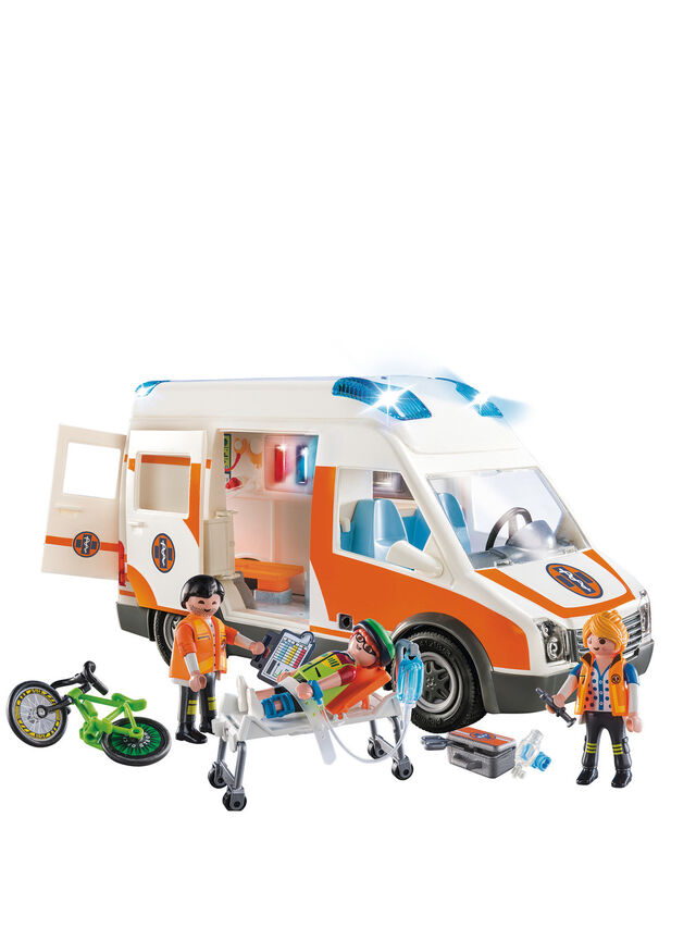 City Life Ambulance With Lights And Sound