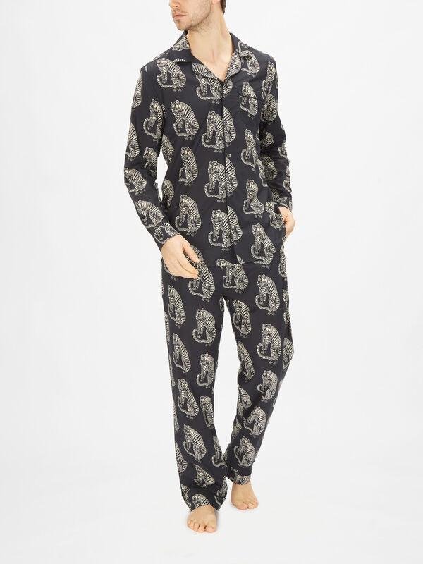 Tiger Pyjama Shirt