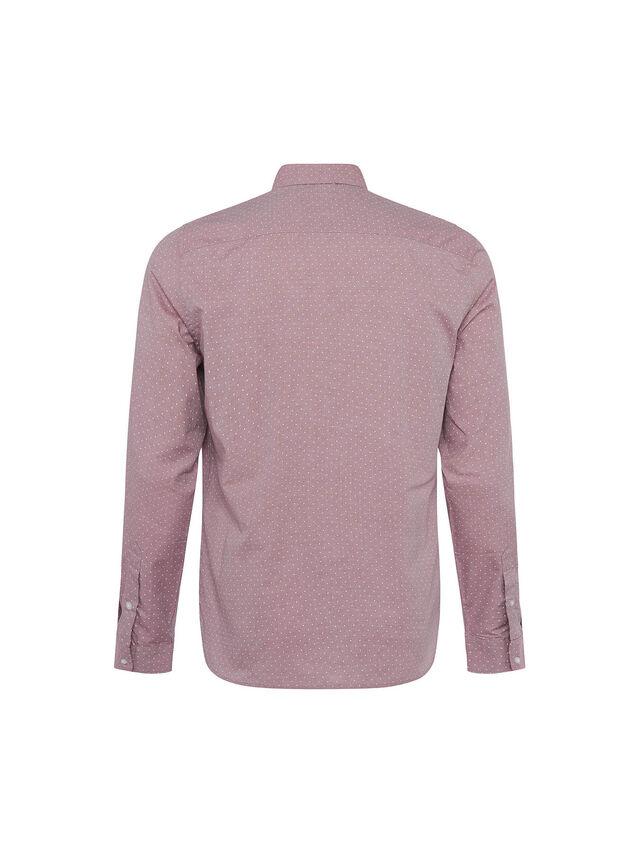 Fine Dot Twill Long Sleeve Shirt