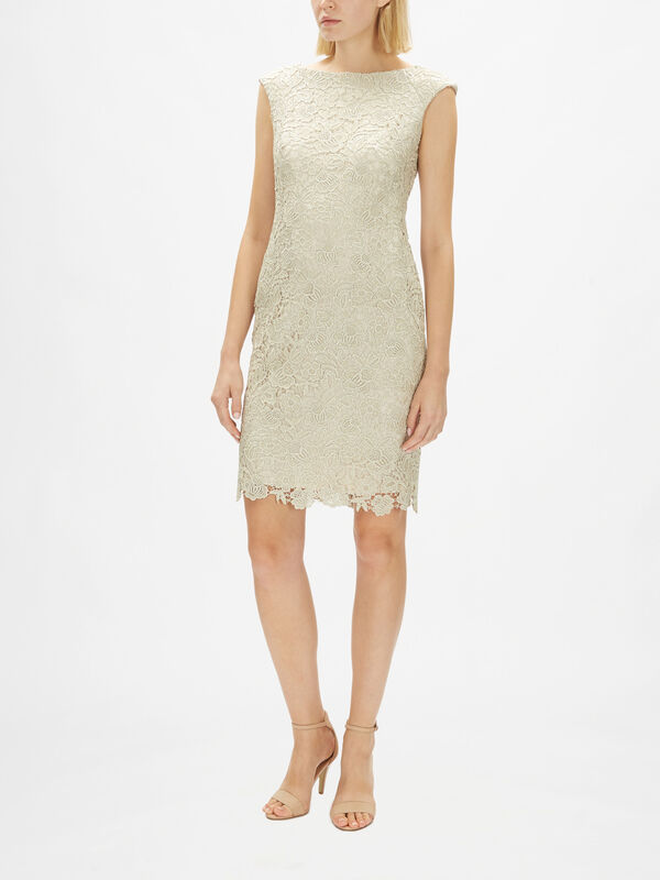 Veeh Lace Cocktail Dress