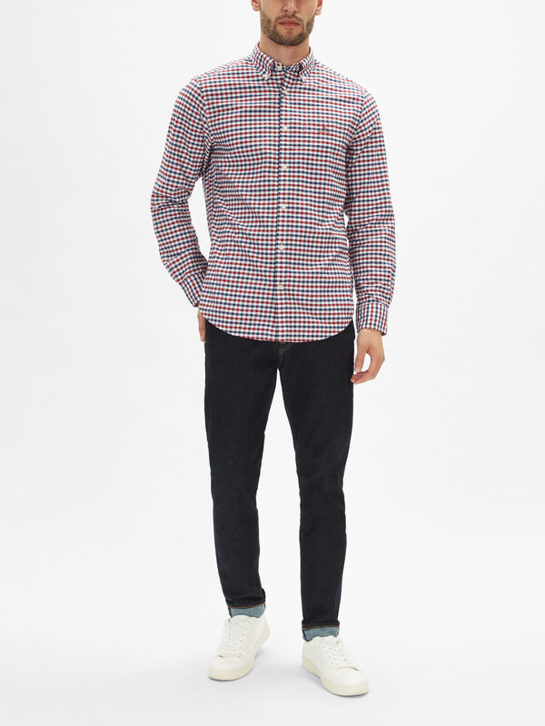 Gingham Oxford Shirt