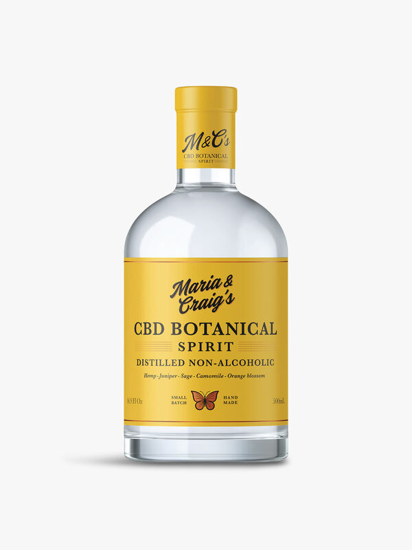 CBD Botanical Spirit Distilled Non-Alcoholic 50cl