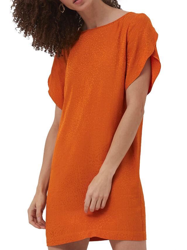 Dua Drape Tunic Dress