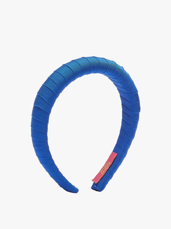 Padded Grograin Wrap Headband