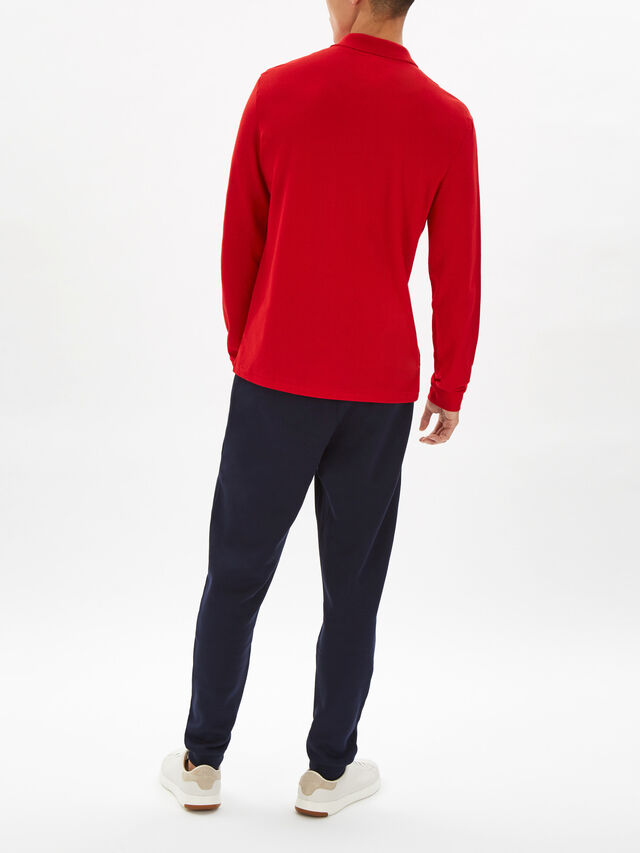 Long Sleeve Classic Polo Shirt