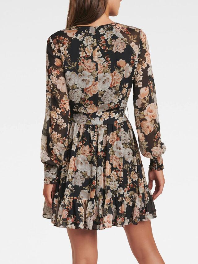 Abigail Belted Skater Dress