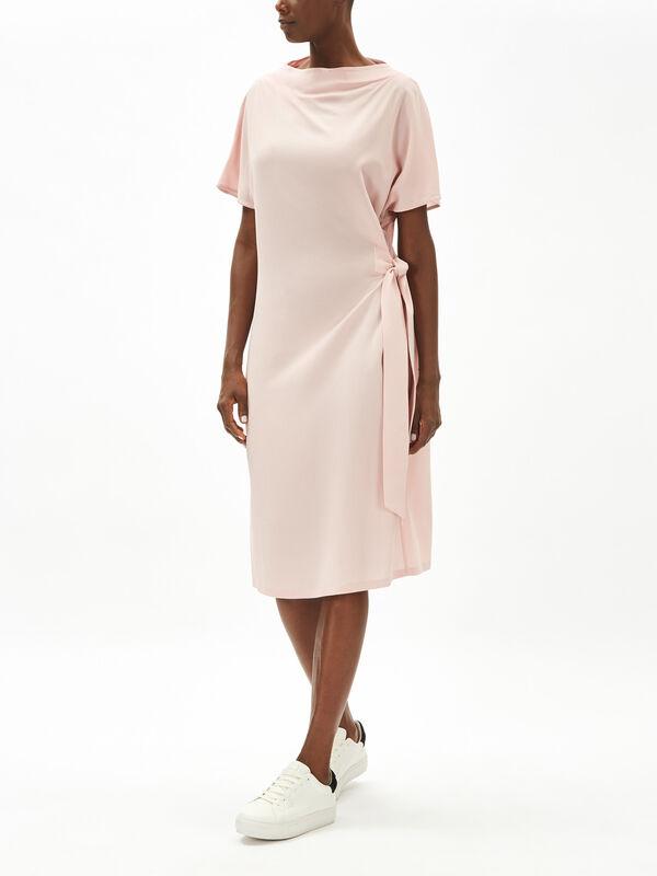 Tie Side Midi Dress