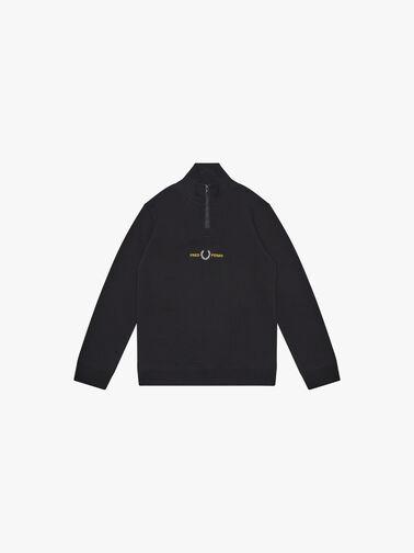 Embroidered-Half-Zip-Sweatshirt-SY1505