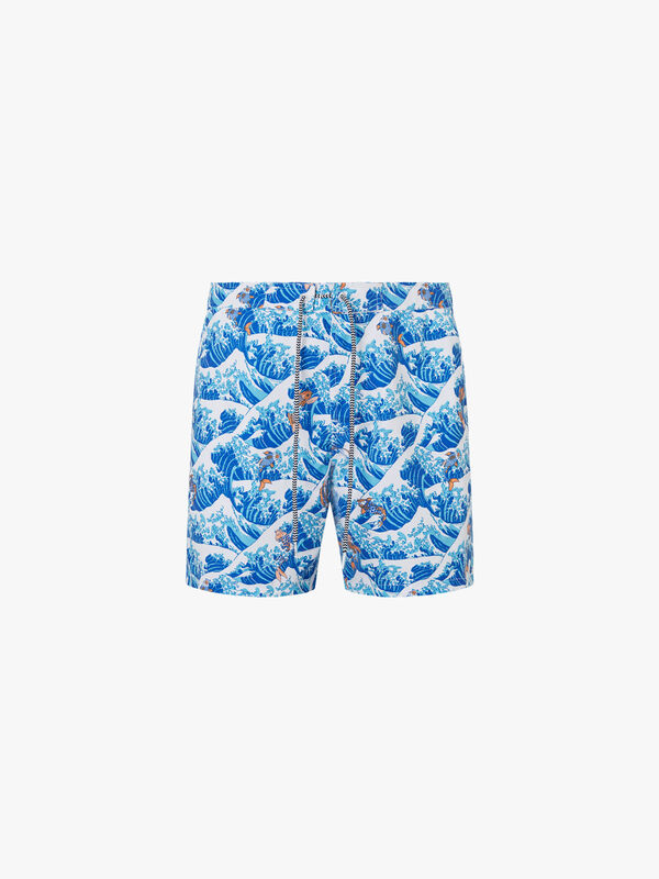 Koi Fish Swim Shorts