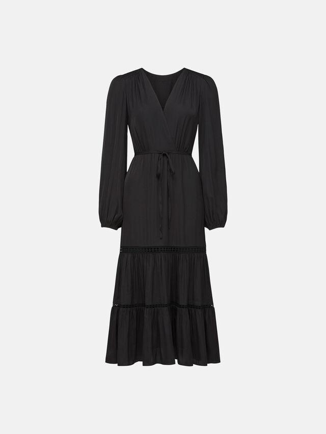 Stacey Trim Midi Dress