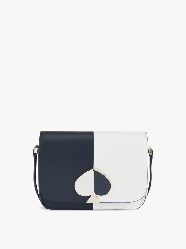 Nicola Bicolour Small Flap Shoulder Bag