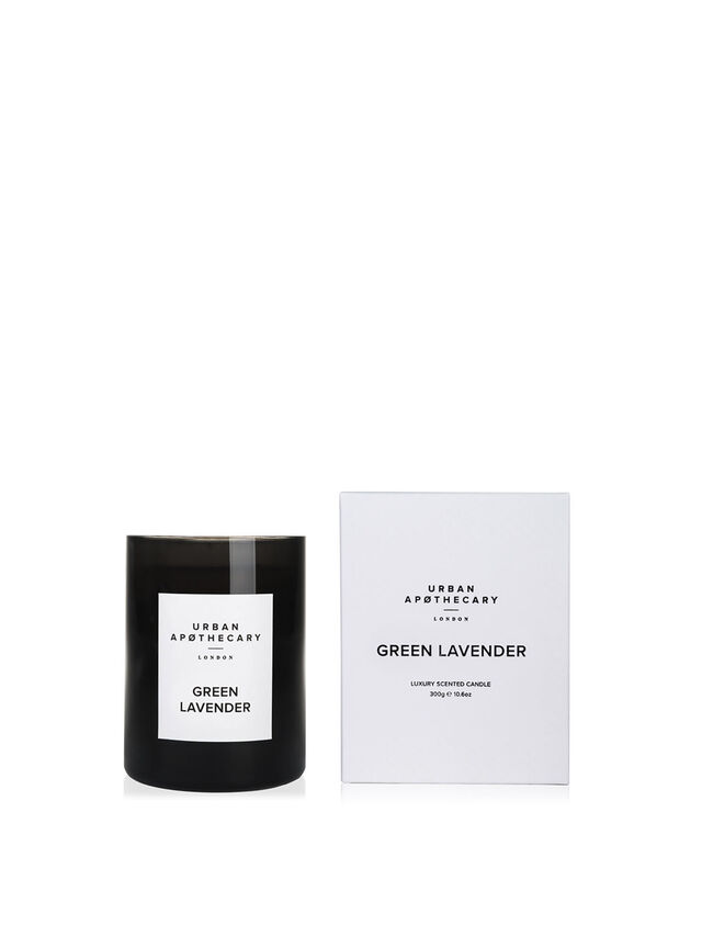 Green Lavender Luxury Candle
