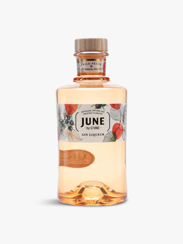 June Wild Peach & Summer Fruits Liqueur Gin 70cl