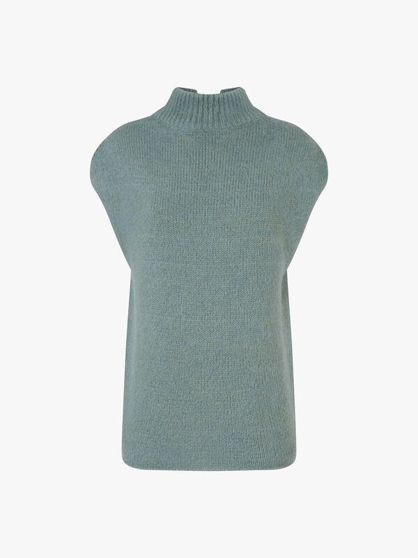 Cap Sleeve Knit Top