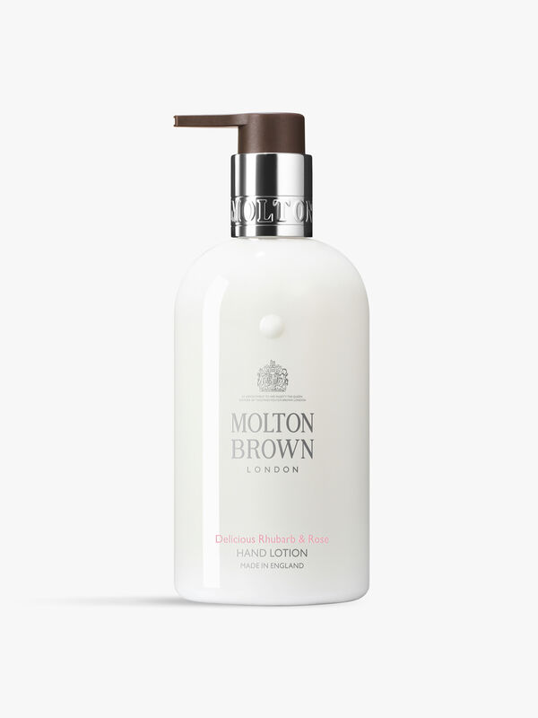 Delicious Rhubarb & Rose Hand Lotion