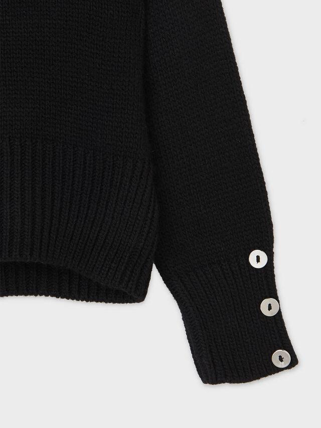 Braided sweater
