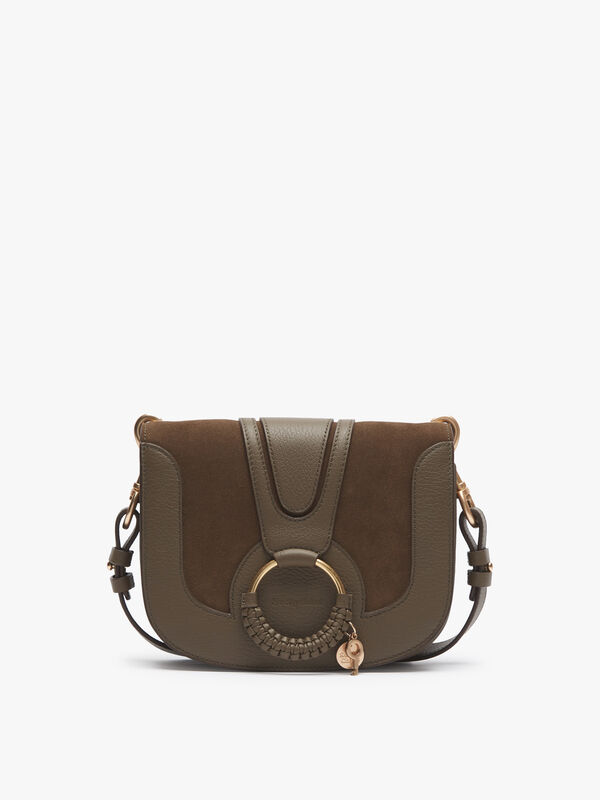 Hana Medium Suede Crossbody Bag