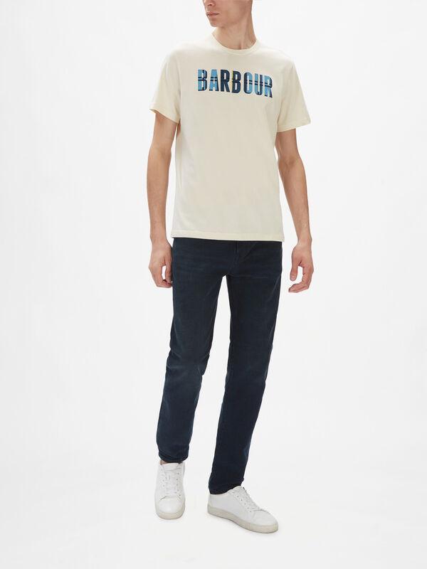 Canlan Large Logo Tartan T-Shirt