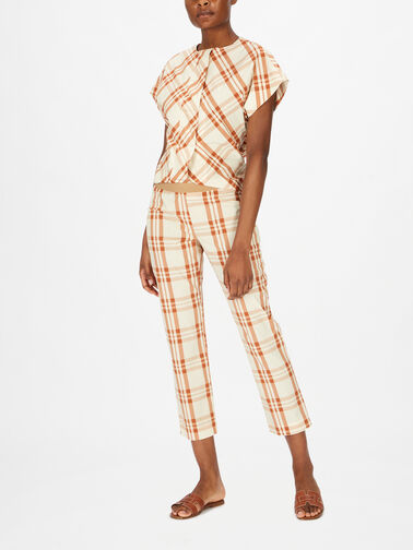 Gingham-Cropped-Cotton-Pull-On-Trouser-F1SU17
