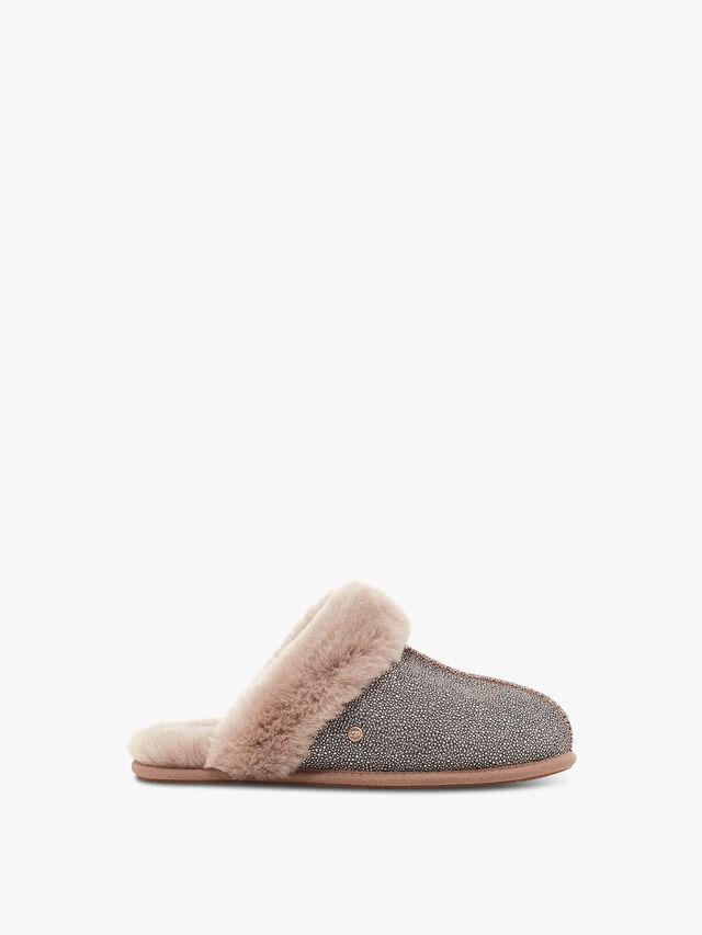Scuffette II Caviar Slippers