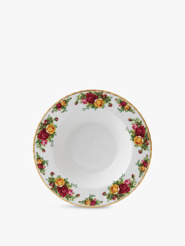 Old Country Roses Rim Soup 24cm