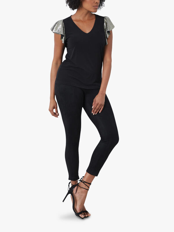 Voulant Sleeve Top