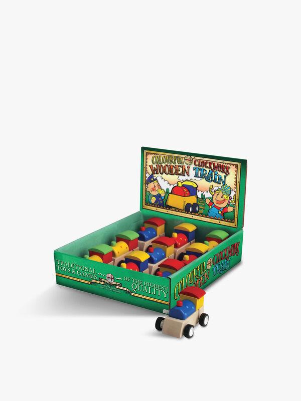 Clockwork Wooden Train (Single Pack)