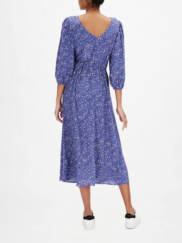 Dai Dot Printed Dress