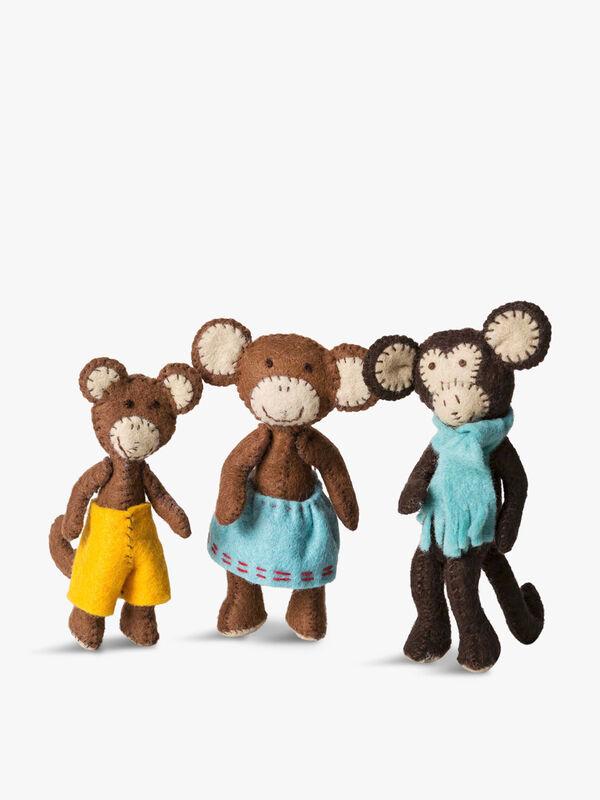 Monkey Family Kit
