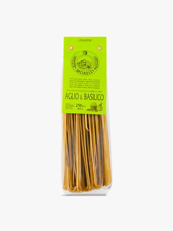 Garlic and Basil Linguini