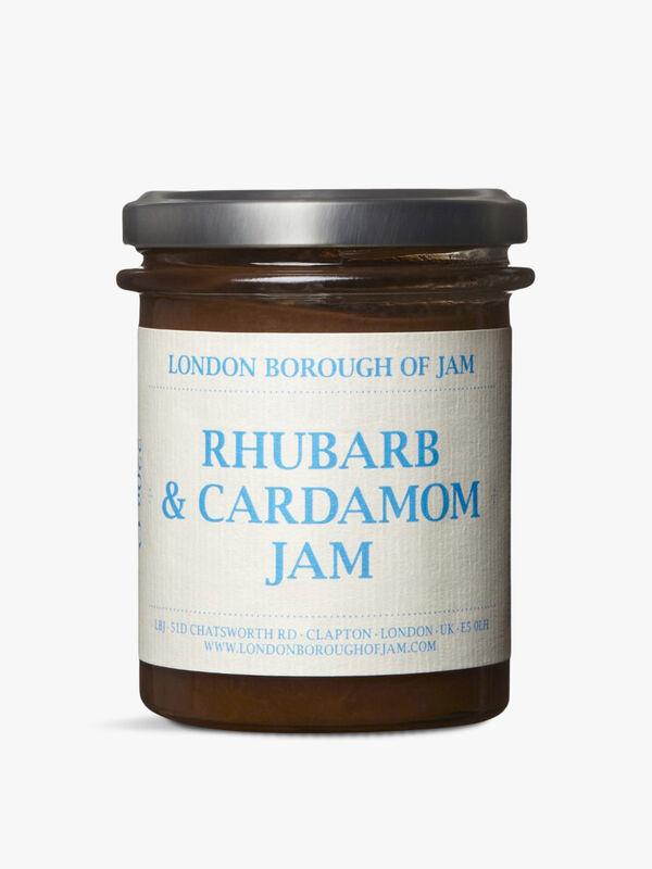 Rhubarb And Cardamom Jam