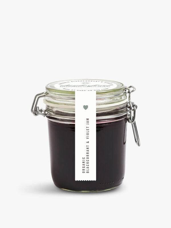 Organic Blackcurrant & Violet Jam Kilner 227g