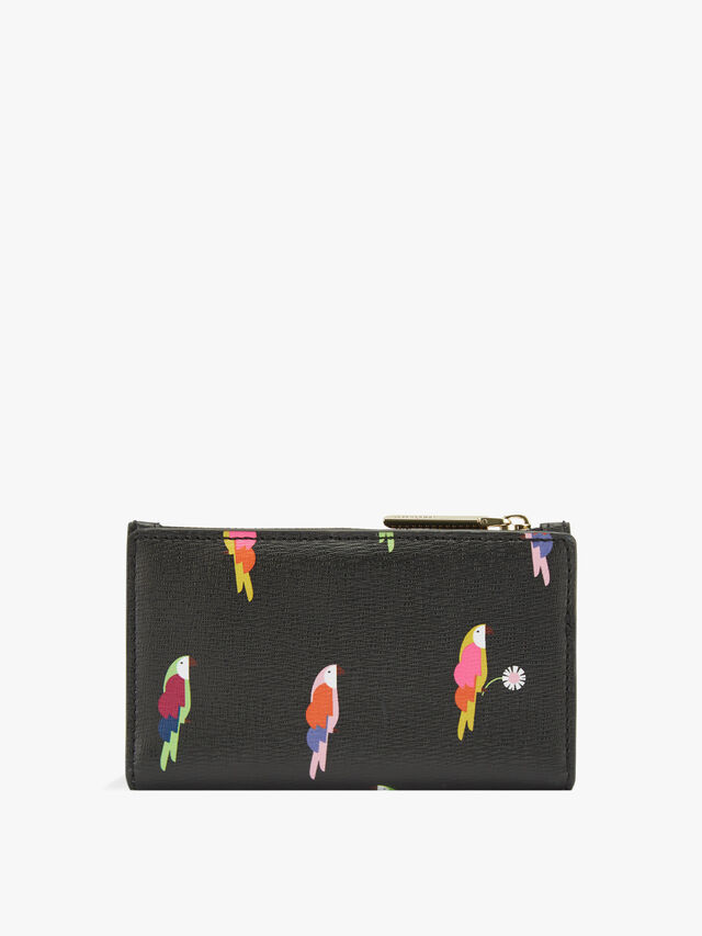 Sylvia Flock Party Small Bifold Wallet