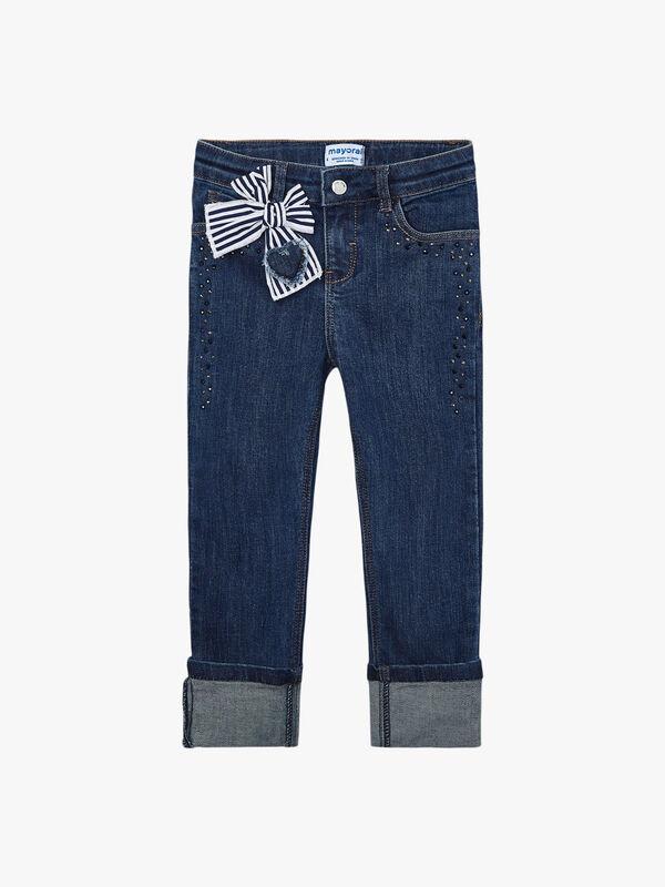 Studded Denim Jeans