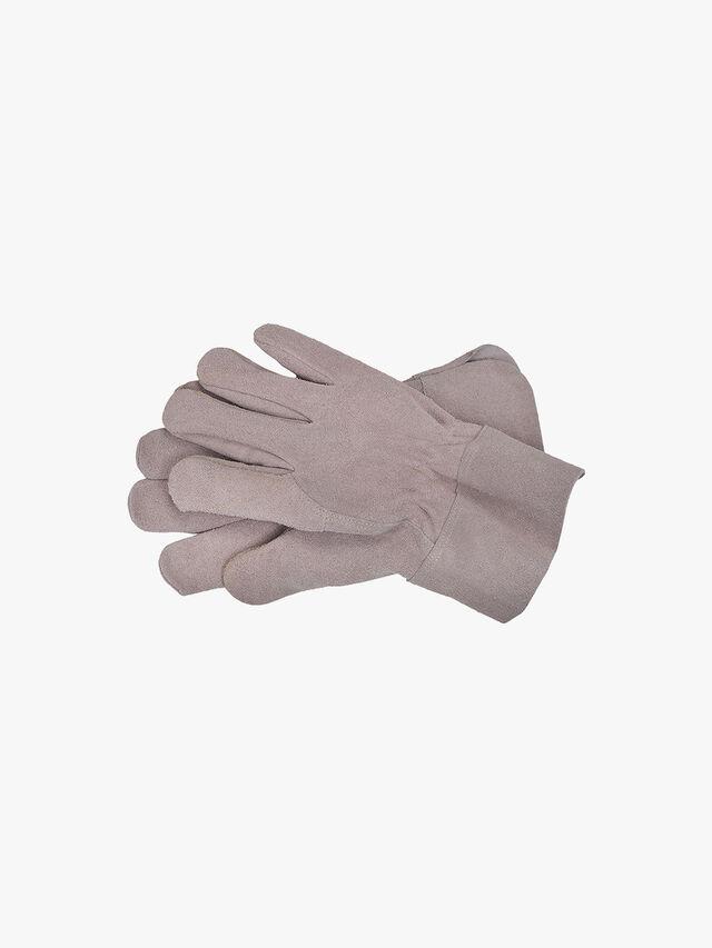 Garden Gloves in Natural - Suede