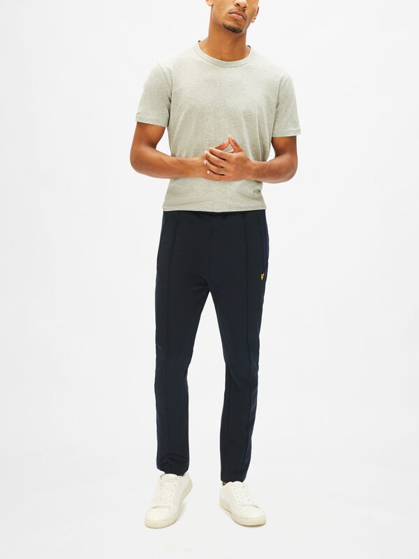 Tricot Sweatpant with Side Stripe Detail